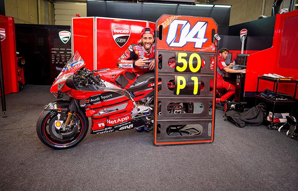 Las 50 victorias de Ducati en MotoGP