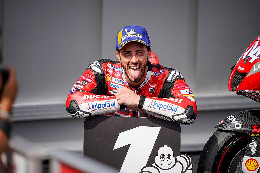 Antes de lograr la victoria número 50, Andrea Dovizioso anunció que abandonará el equipo Ducati MotoGP en 2021