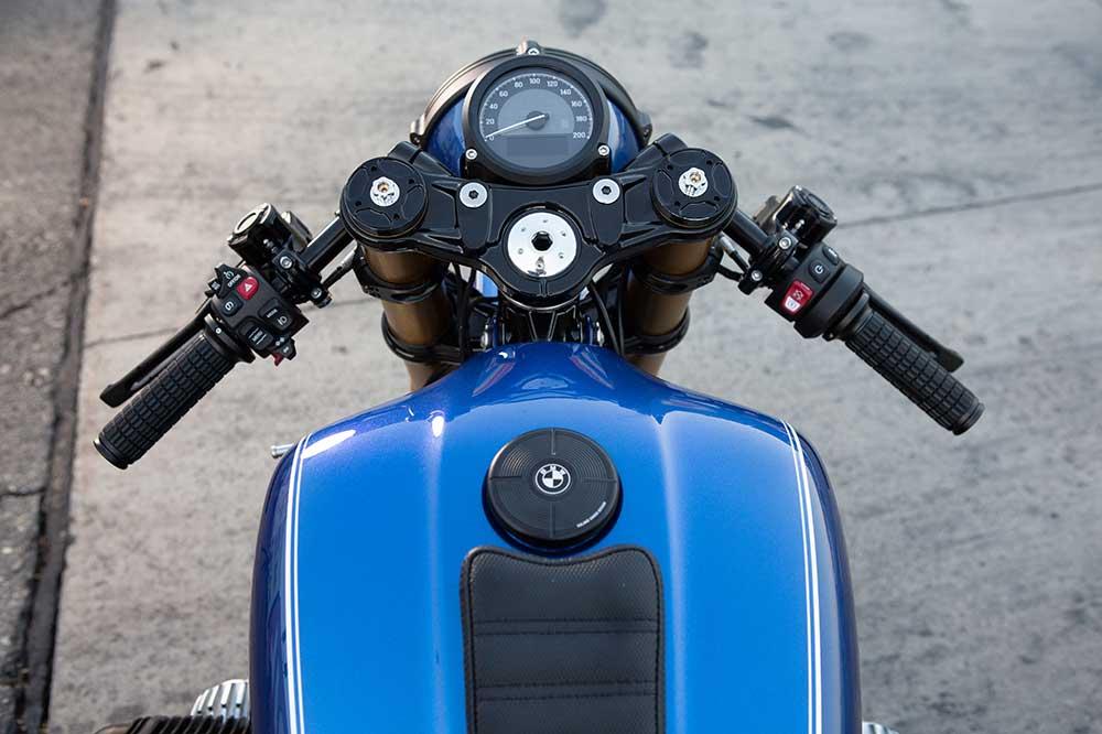 Cuadro de mandos de la BMW R 18 Dragster