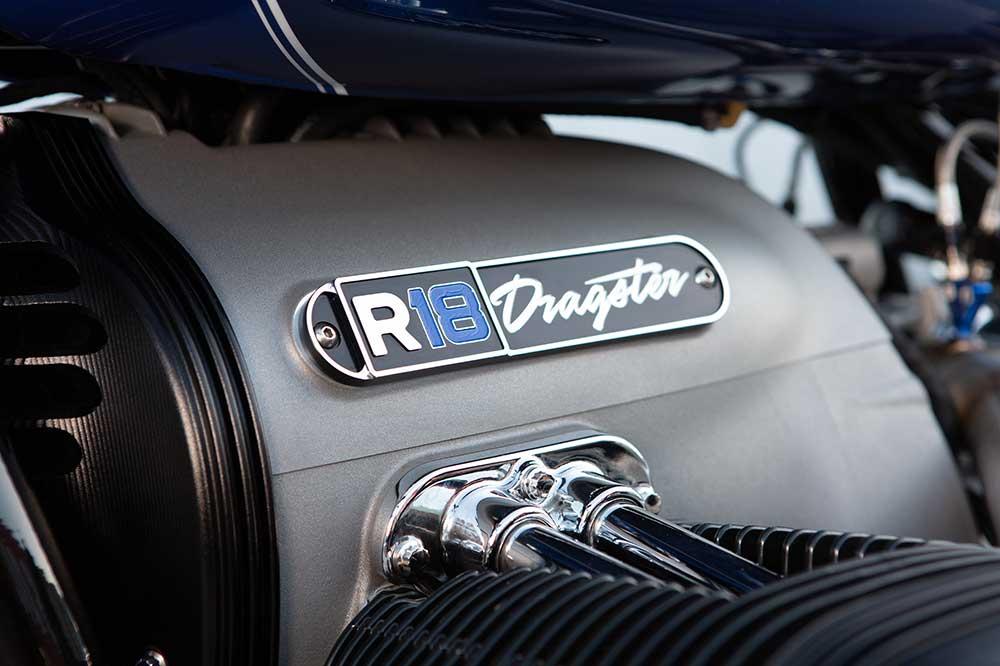 Detalle del motor de la BMW R 18 Dragster