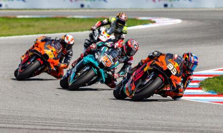 Brad Binder logra la primera victoria de KTM en MotoGP