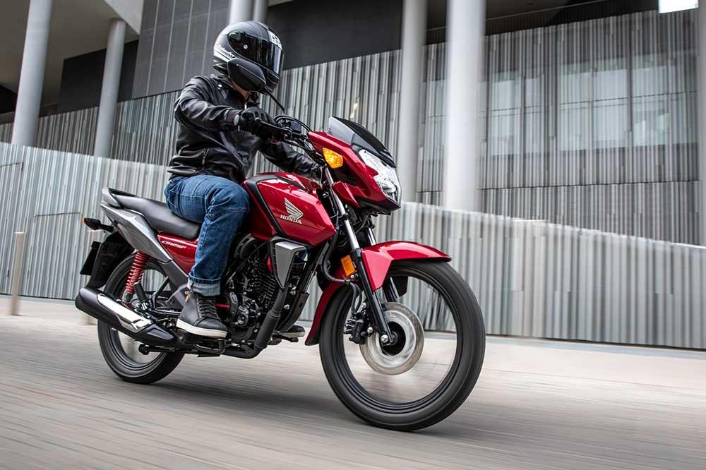 La Honda CB 125F es una moto completamente nueva y adaptada a la normativa Euro 5