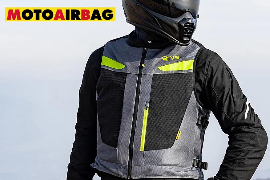 Nuevo airbag de moto Motoairbag Mab V3