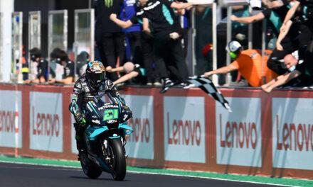 Morbidelli logra su primera victoria en MotoGP