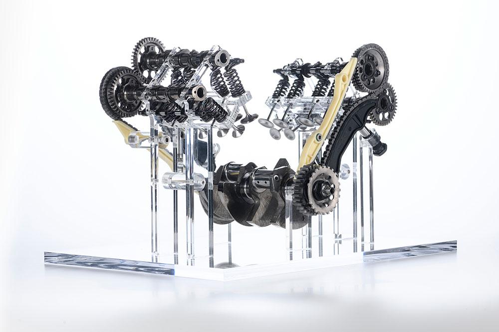 El sistema de distribución dejará de ser el clásico desmo de Ducati
