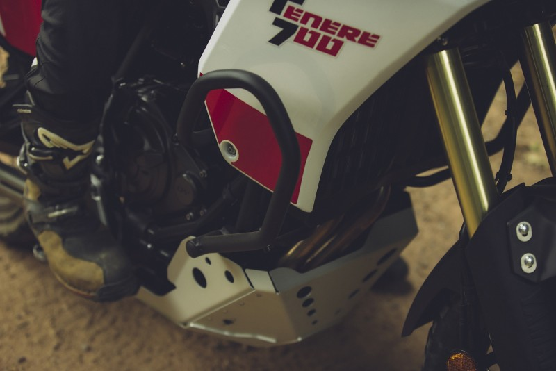 Equipamiento Kappa para la Yamaha Ténéré