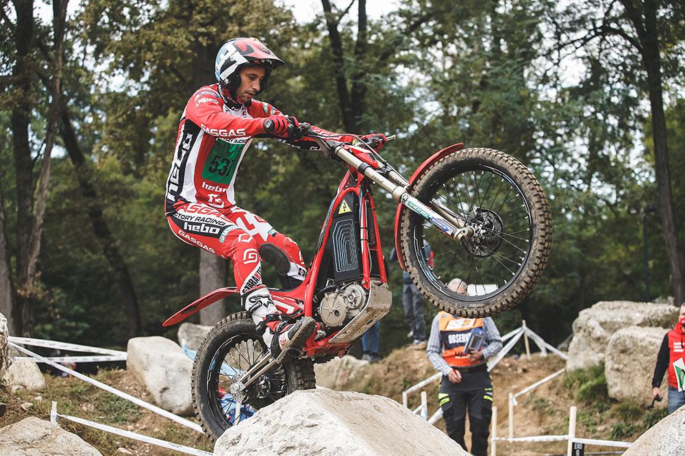 Albert Cabestany ya es bicampeón del mundo de trial con motos eléctricas
