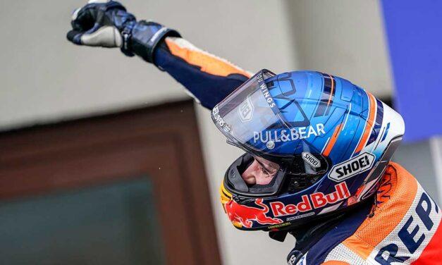 Alex Márquez logra su primer podio en MotoGP