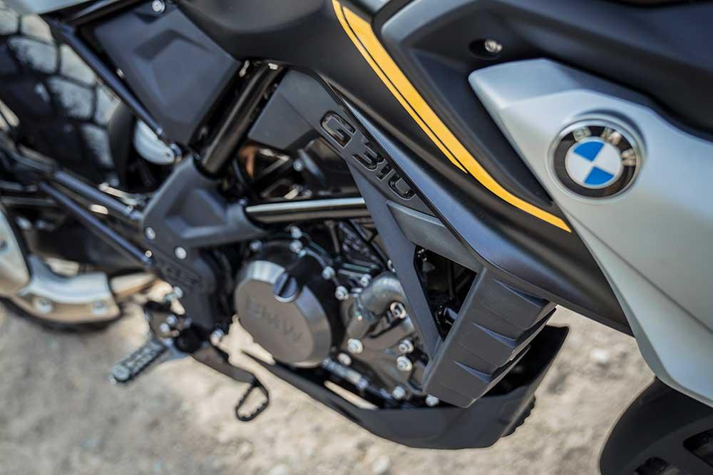 El motor de la BMW G 310 GS ha sido adaptado a la normativa Euro 5