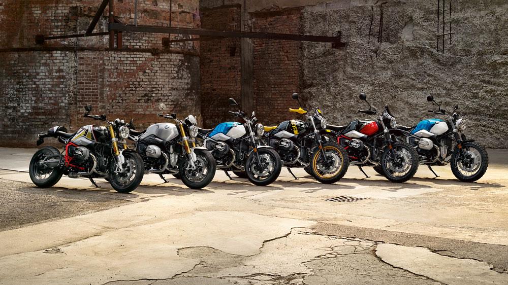 La gama de motos BMW R Nine T 2021 consta de cinco versiones todas ellas con un marcado carácter