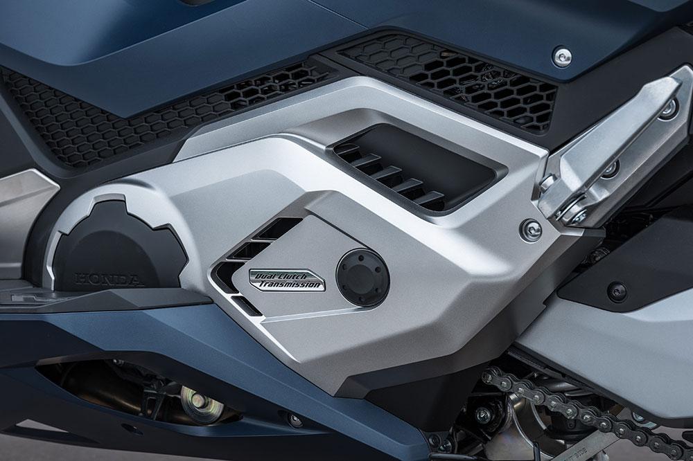 El sistema doble embrague de Honda DCT es una de las grandes bazas del Forza 750