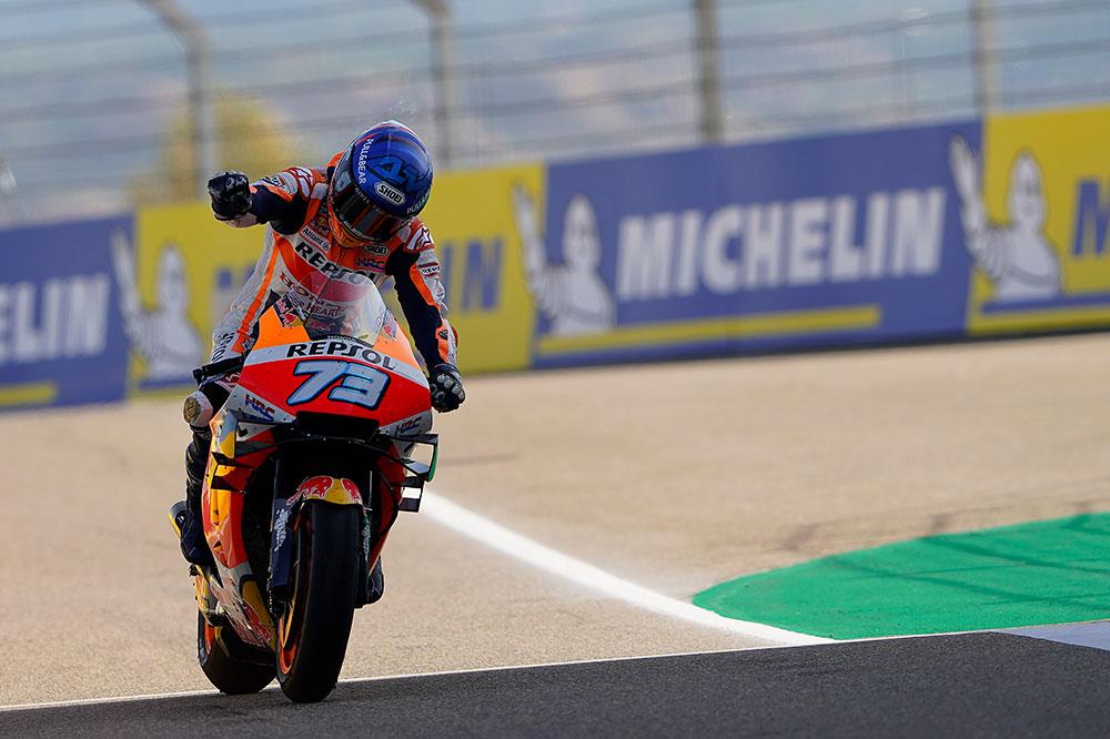 Alex Márquez consolida su progresión en el Mundial de MotoGP