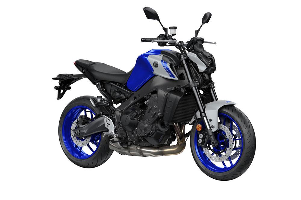 Yamaha MT 09 2021 en color azul
