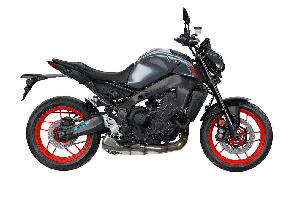 Yamaha MT 09 2021 color Gris