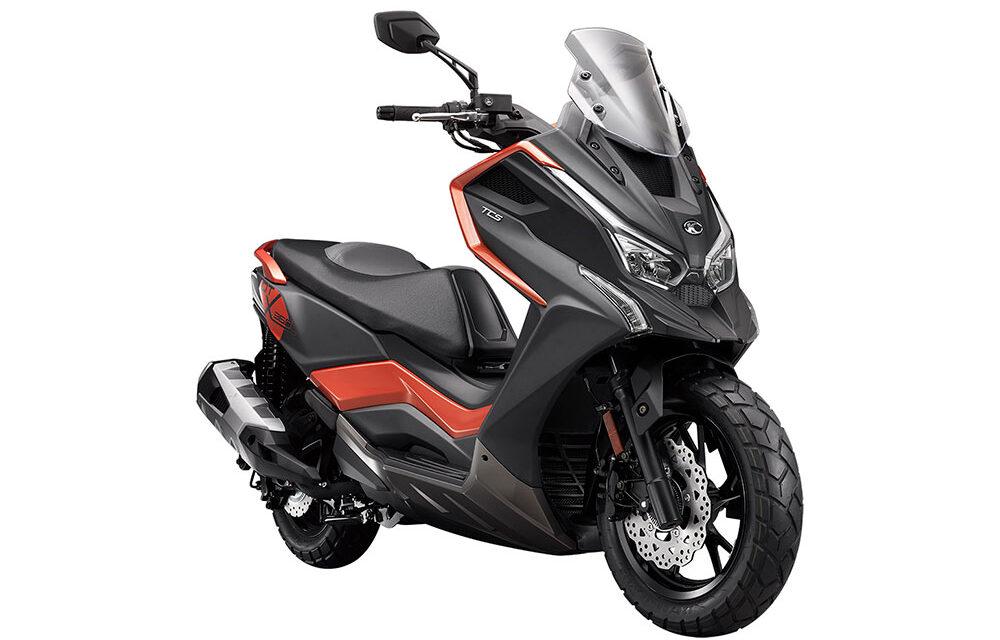 KYMCO DT X360: Un nuevo scooter crossover