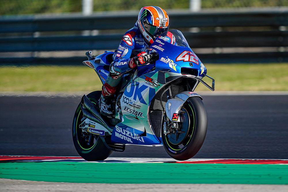 Alex Rins no pudo lograr el sueño de Suzuki de lograr campeonato y subcampeonato