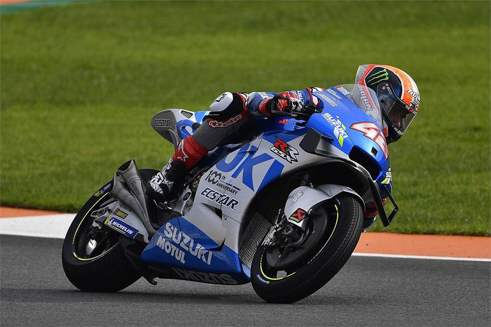 Alex Rins es tercero del Mundial de Motociclismo a falta de una carrera por disputarse