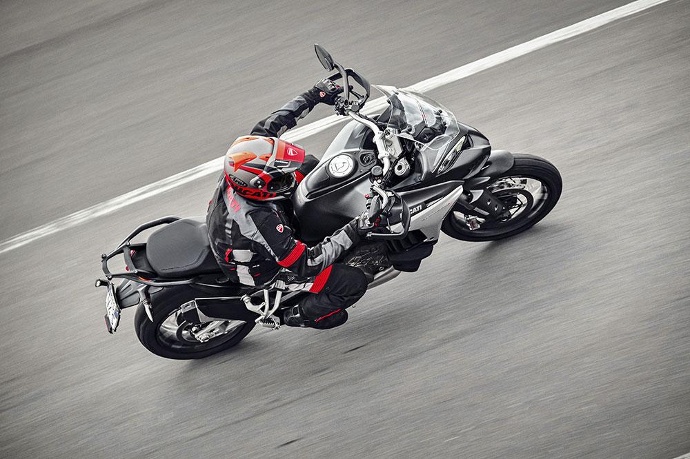 El nuevo motor V4 Gran Turismo de la Multistrada ha sido ideado para dar lo mejor de sí en carretera