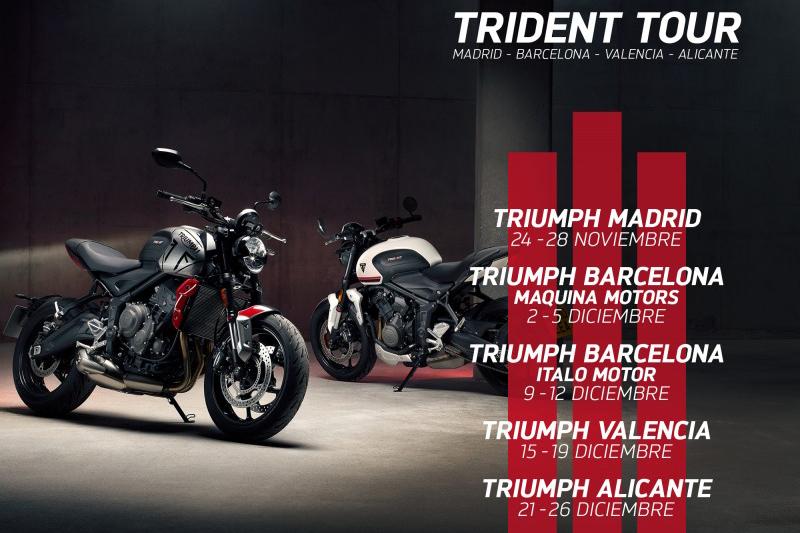 La Trident 660 se dejará ver en España con interesantes premios y sorpresas