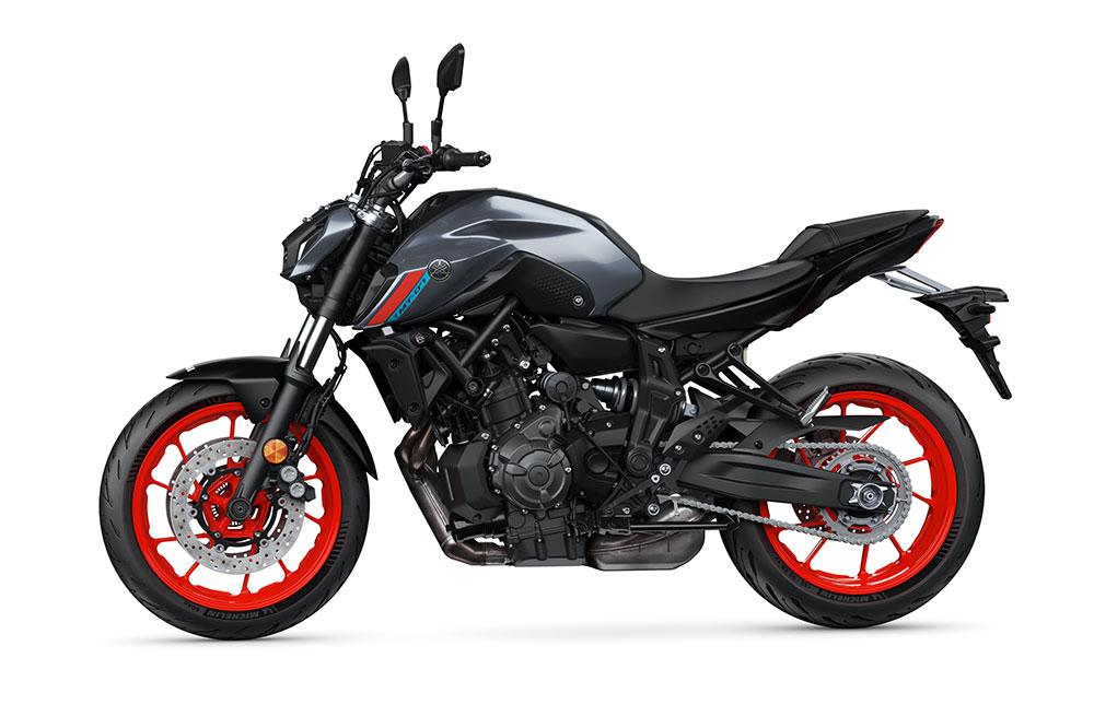 La Yamaha MT 07 es una de las naked medias más exitosas, por su buena relación entre calidad y precio