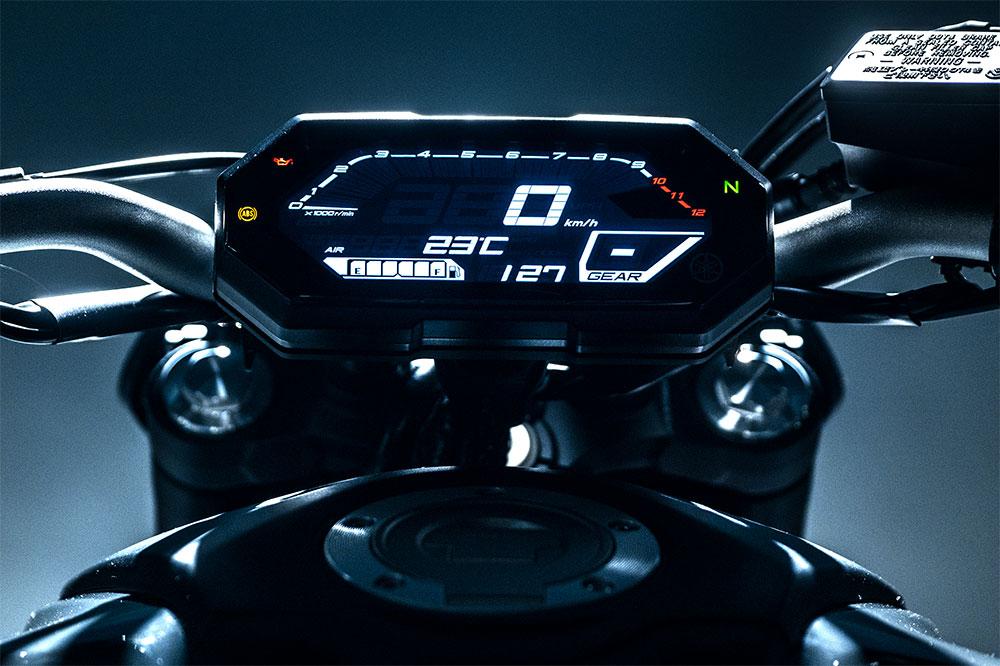 La Yamaha MT 07 comparte cuadro de instrumentos con la Tracer 700