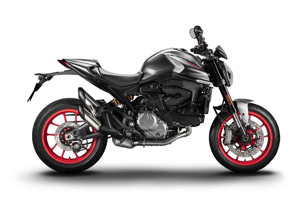 Ducati ha abandonado el chasis multitubular característico de las primeras Monster