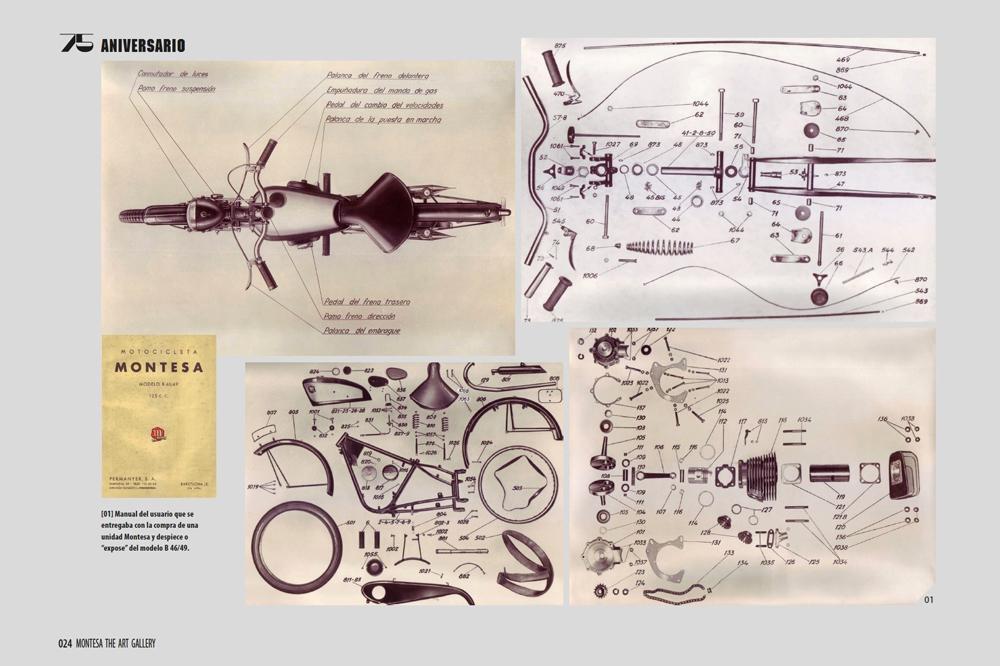 Edición Especial 75 aniversario del libro de Montesa The Art Gallery