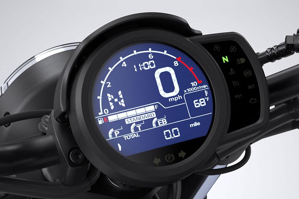 Cuadro de instrumentos de la Honda CMX 1100 Rebel