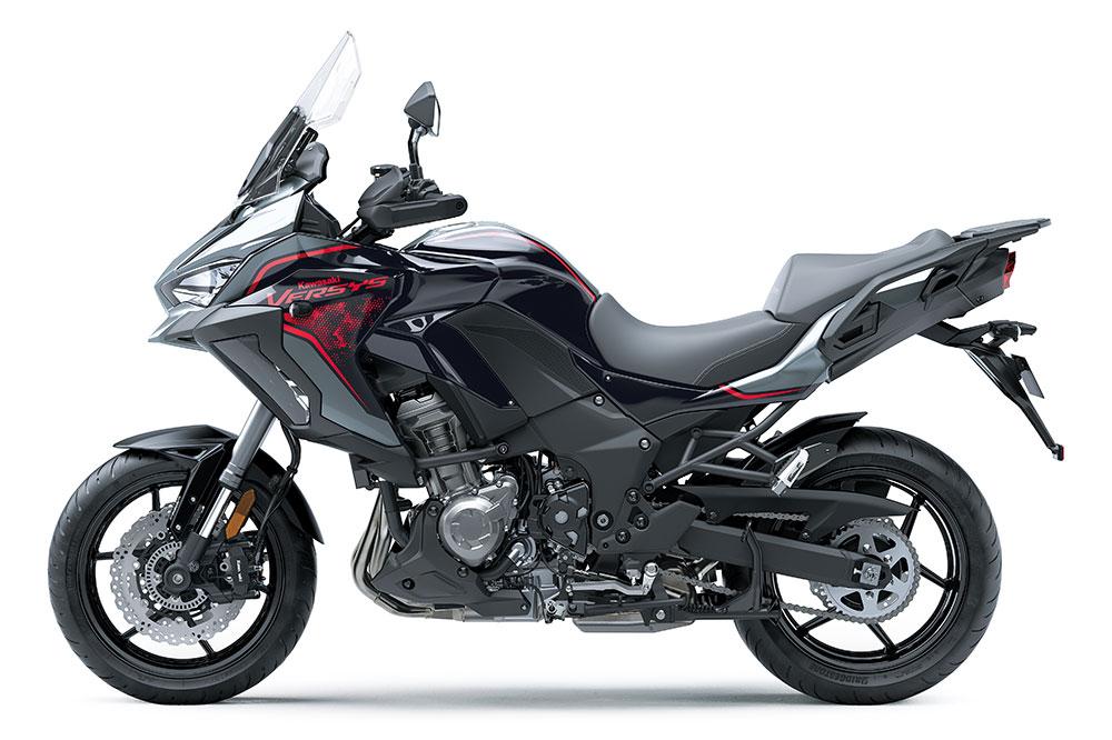 La Kawasaki Versys 1000 SE 2021 también estrena nuevas combinaciones de colores