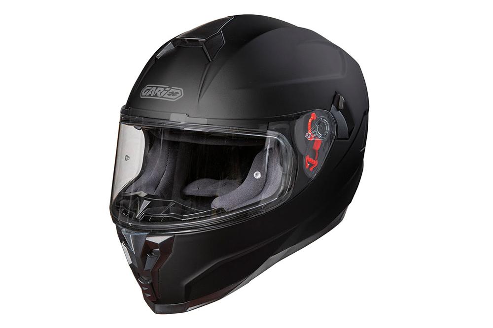 Casco G80 Trend negro mate de Garibaldi