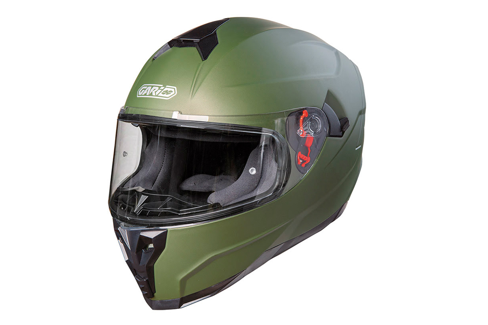 Casco G80 Trend verde de Garibaldi