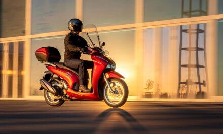 Honda SH 350i 2021: Se actualiza el scooter de rueda alta