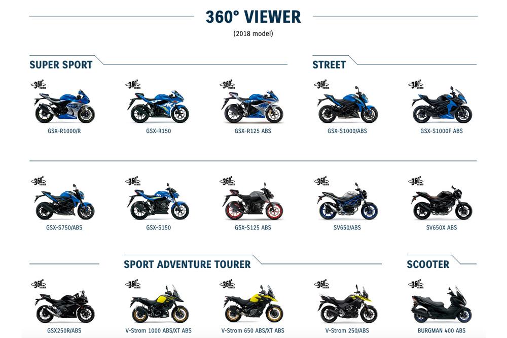 Suzuki 360 grados