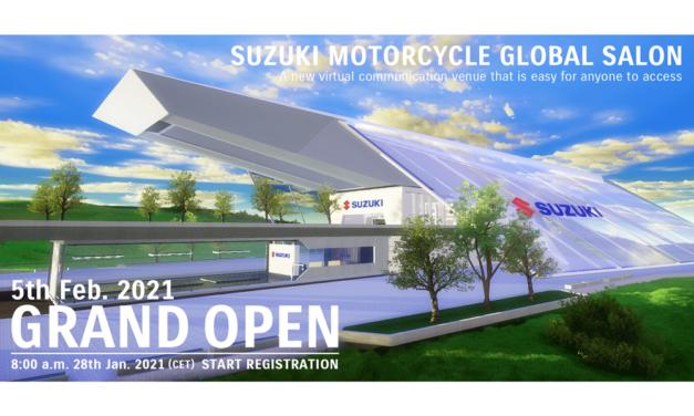 Suzuki crea su propio salón de la moto virtual