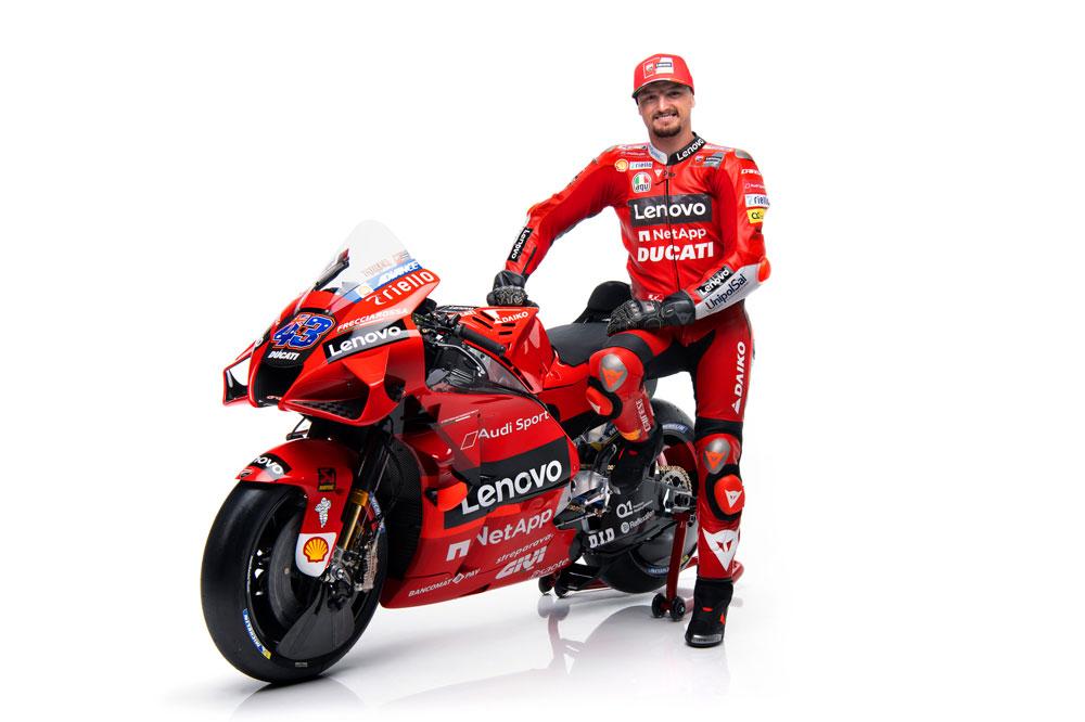 Jack Miller se estrenará este año con la Ducati Oficial