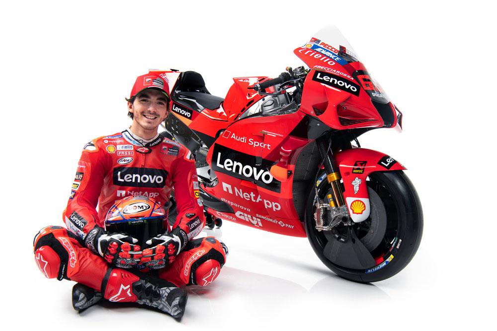 Para Pecco Bagnaia formar parte del equipo Ducati siempre ha sido un sueño
