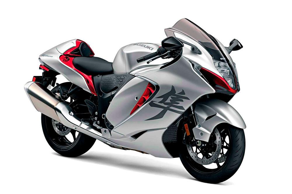 La Suzuki Hayabusa fue la competidora de las Honda CBR 1000 XX Blackbird y Kawasaki Ninja ZX 11