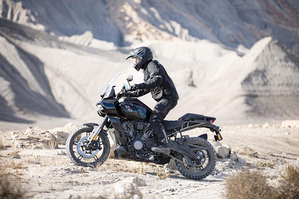 La Harley Davidson Pan America tiene cuatro modos de conducción en su versión estándar y seis en la Special