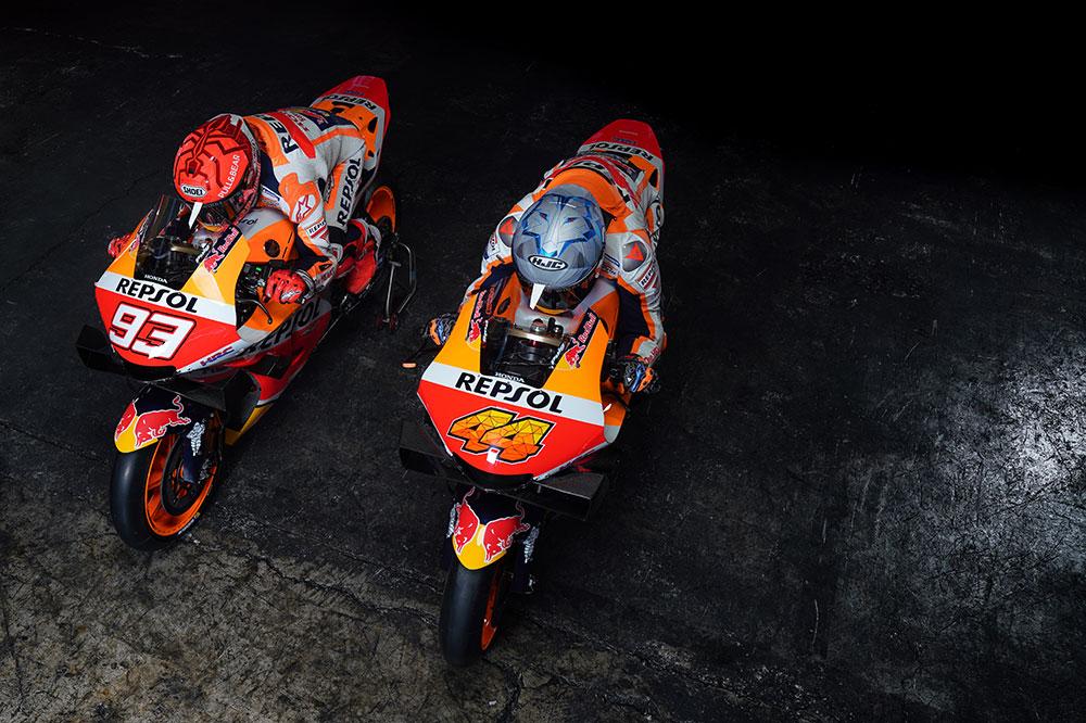 Marc Márquez y Pol Espargaró, compañeros del Repsol Honda MotoGP 2021