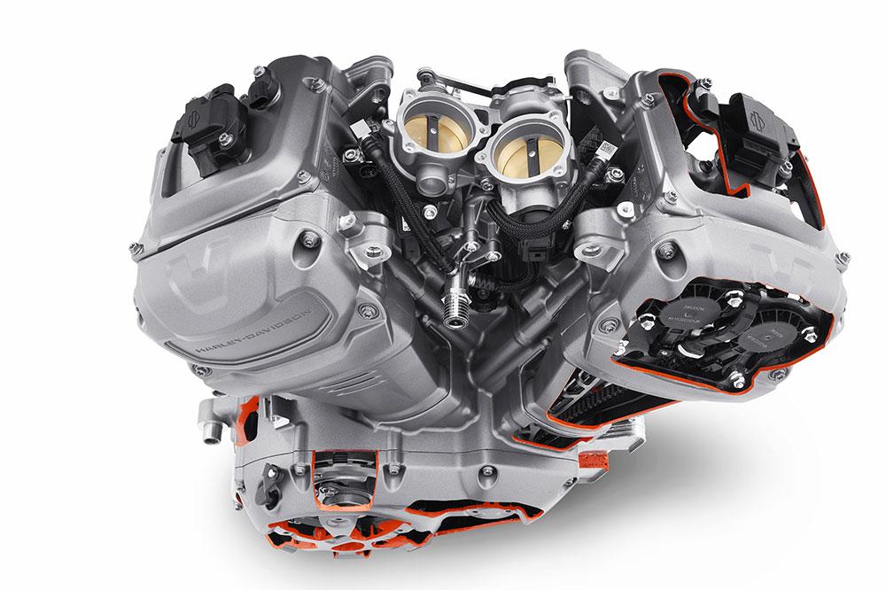 El nuevo motor de Harley Davidson Revolution Max dará vida a la próxima generación de motos americanas
