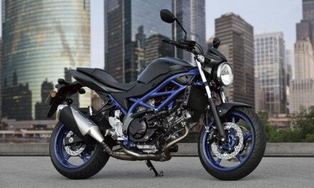 Suzuki SV 650 2021: Nuevos colores