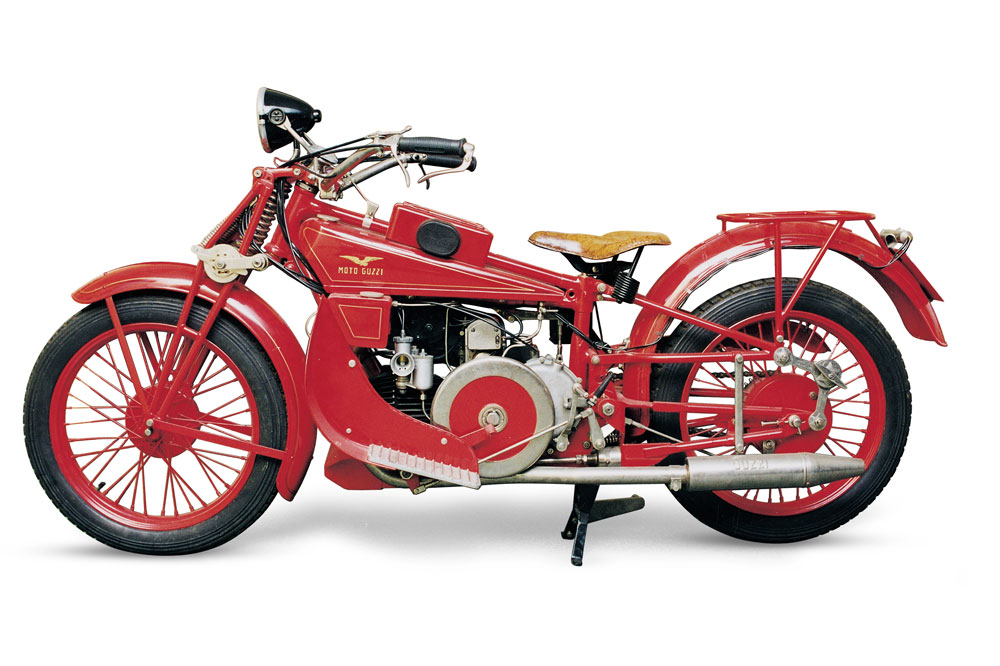 Moto Guzzi Norge GT 500 de 1928