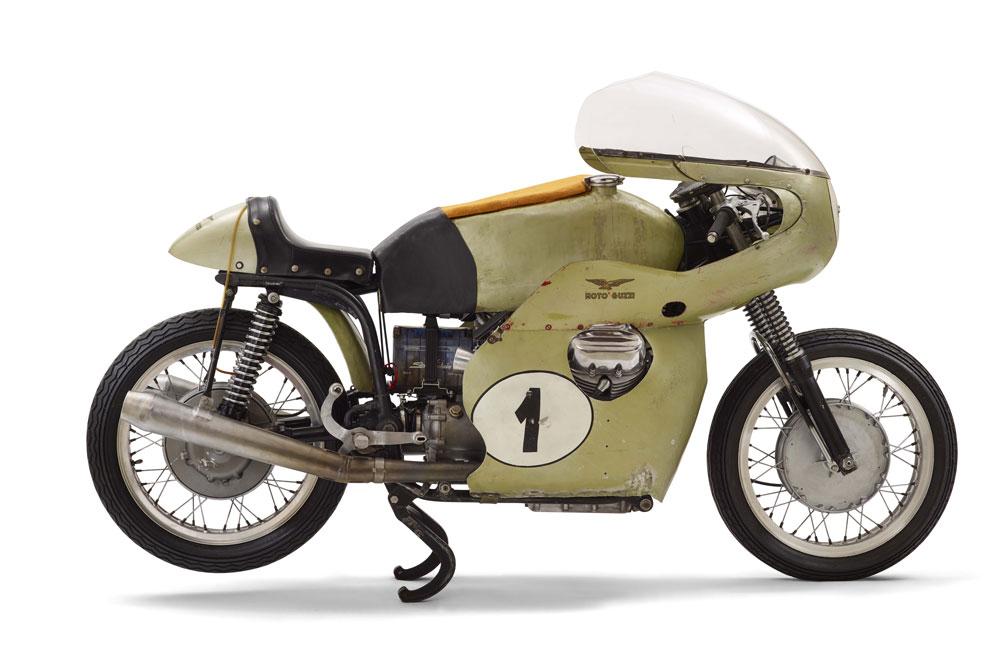 Moto Guzzi V7 Caza Records, de 1969