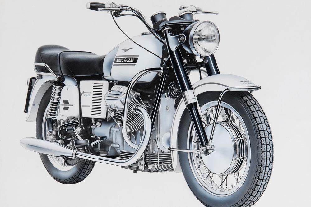 Moto Guzzi V7 Special de 1969