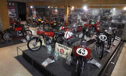 La exposición «Montesa, 75 años de una aventura irrepetible», reabre sus puertas