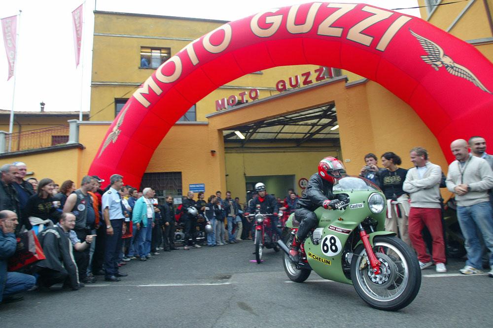 El punto de encuentro de los aficionados a las Guzzi son los World Days