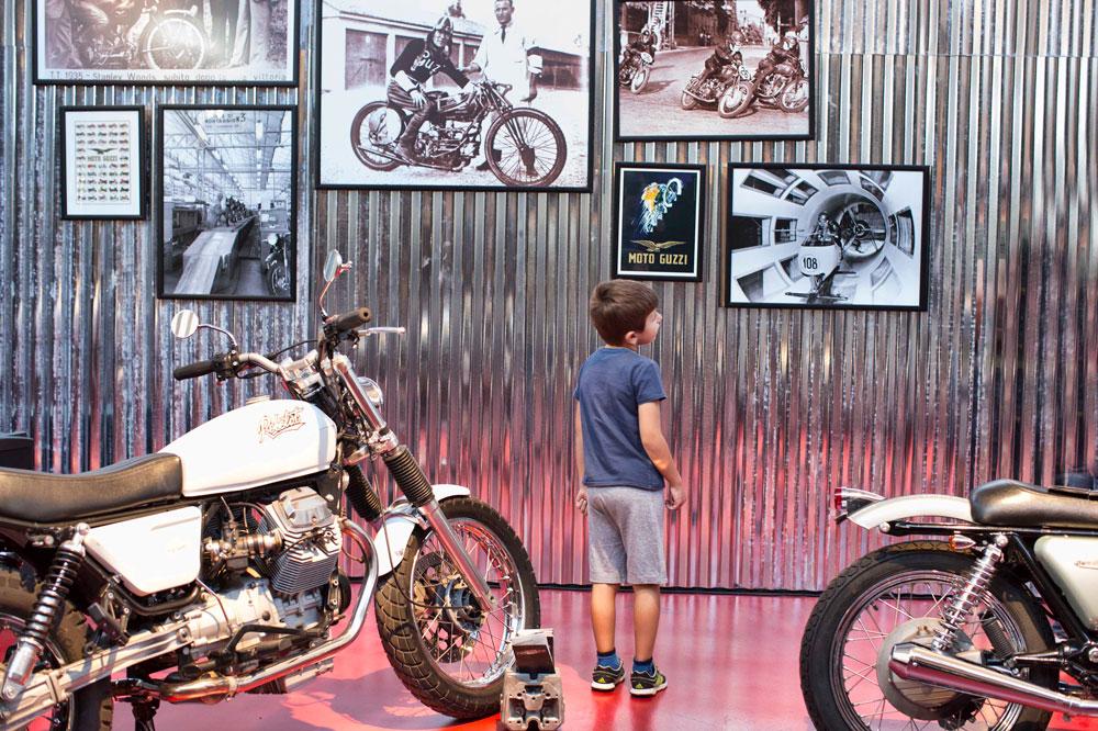 El Museo Moto Guzzi, un lugar imprescindible para entender la historia de la firma