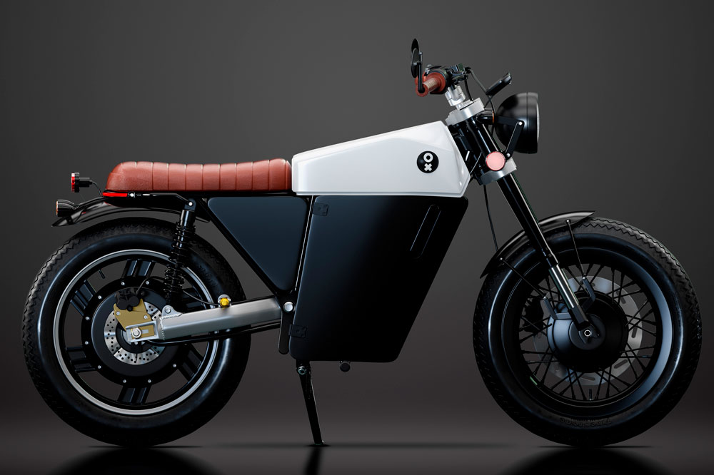 OX Motorcycles One, moto eléctrica para el A1 y B