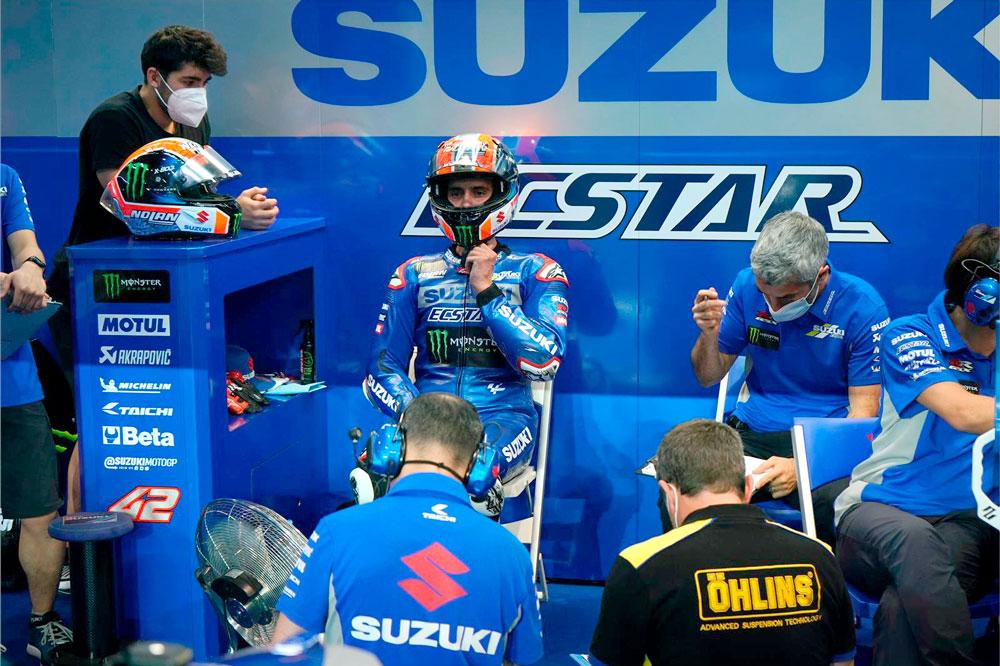 La salida de Davide Brivio del equipo Suzuki sorprendió a todos sus integrantes
