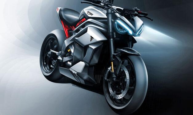 Triumph desvela los bocetos de su moto eléctrica